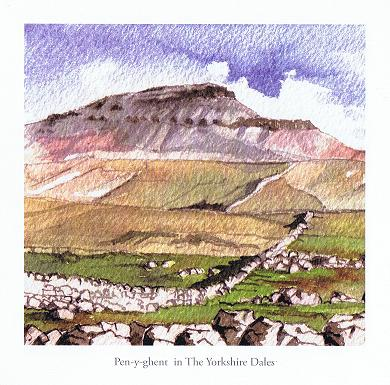 Penygent in the Yorkshire Dales