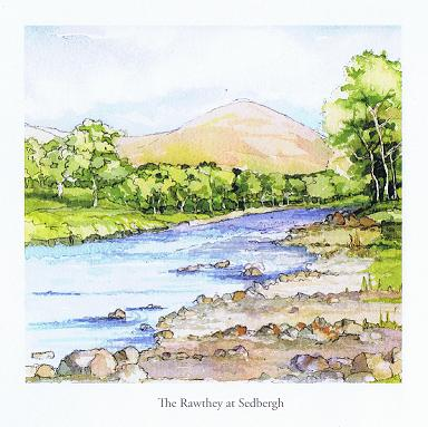 The Rawthey at Sedbergh