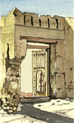 Arabic Gate Baushar
