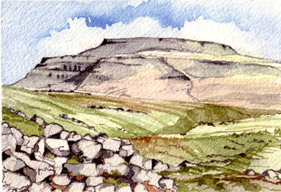 Ingleborough in the Yorkshire Dales