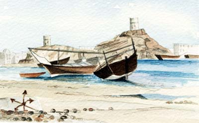 Sur with Boats