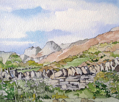 The Langdale Pikes (style 3)