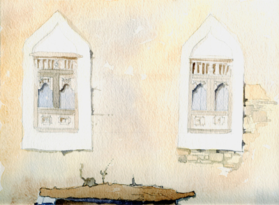 Traditional Omani Window