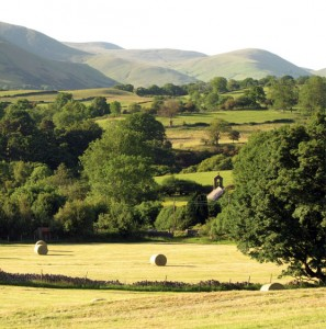 Frostrow  Chapel and the Howgills